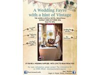 Wedding Fayre with a hint of Vintage