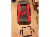 Phil & Ted baby car seat + buggy adaptor