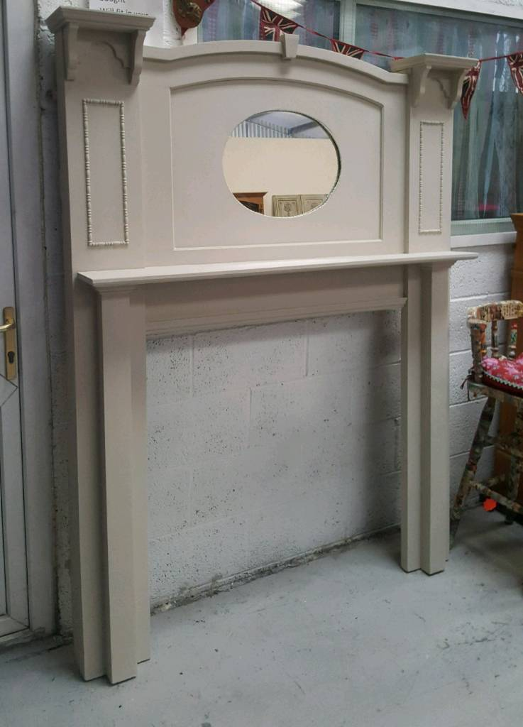 Large tall edwardian fire surround 6ft Can deliver 07808222995