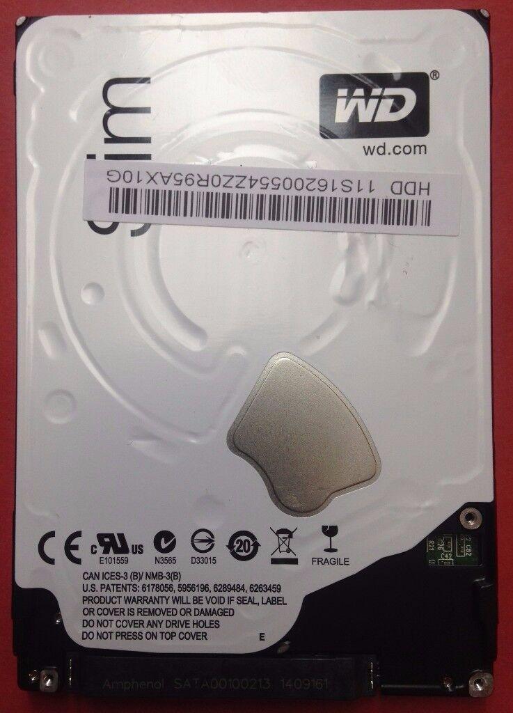 """Western Digital Blue WD10SPCX 1TB 2.5"""" Serial ATA III HDD"""