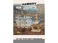 Granddady at the Roundhouse April 3rd Two tickets