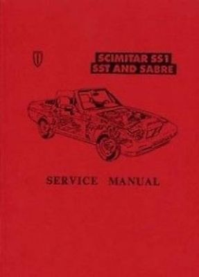 RELIANT SST & SS1 1985 Car Shop manual Catalogue Book paper