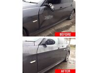 Mobile car body repair cheap prices high quality work scratches from £35