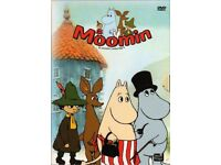 THE MOOMINS: MOOMIN Dvd Series 1-4