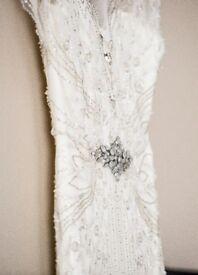 Jenny Packham 'Lyra' Wedding Dress with Veil and Stole