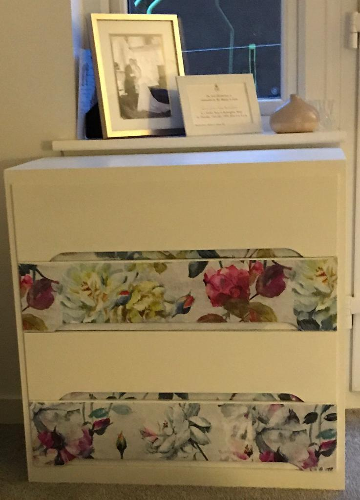 Beautiful mcm upcycled drawers designers guild paper