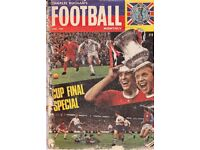 Charles Buchan Football Monthly magazines 1966-1973