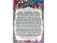 Boomtown 2018 campervan pass
