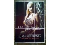 35 X 25 INCH GAME OF THRONES Mosaic Style Wall Art Poster