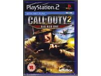 PS2 CALL OF DUTY 2 & 3