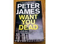 Peter James - 'Want You Dead'