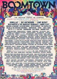 Boomtown Chapter 10 2018 Festival ticket