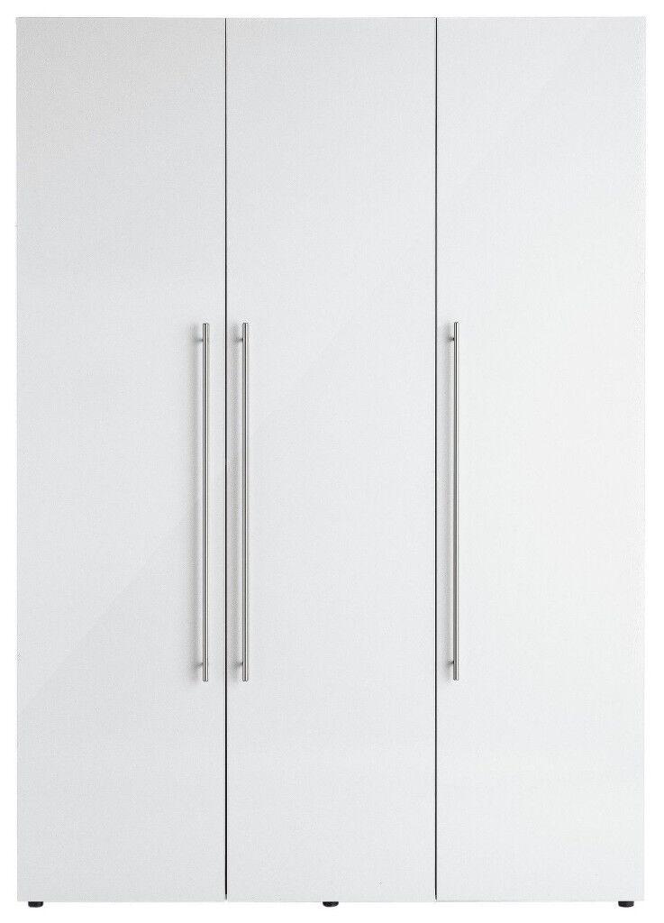 Hygena Atlas 3 Door Wardrobe - White Gloss