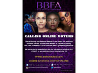 Black Beauty and Fashion Awards - Social media content creation and part time intern