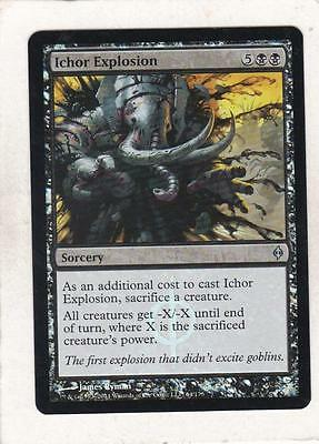 Magic Mtg  Foil  New Phyrexia  Ichor Explosion
