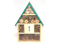 hanging luxury ladybug/bee/insect house for the garden