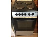 Flavel 50cm freestanding electric cooker. Under a year old, full working order £65