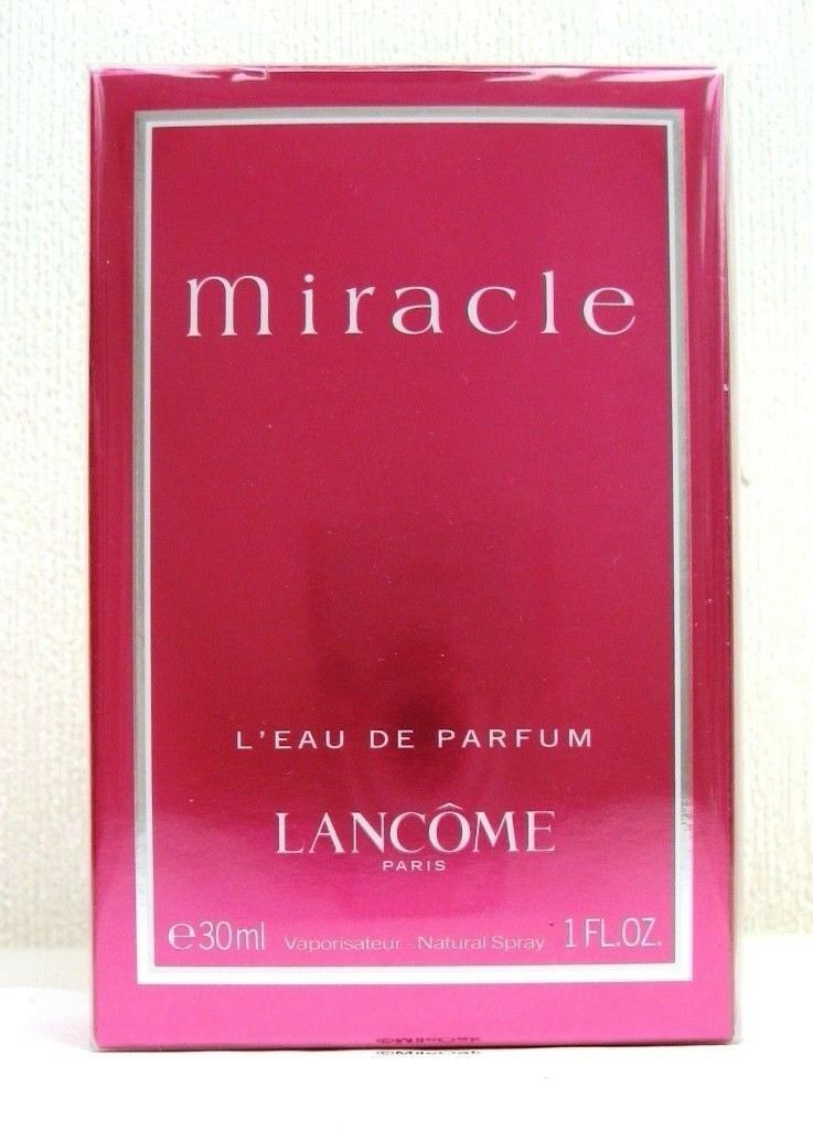 LANCOME MIRACLE EAU DE PARFUM SPRAY 30ML, BRAND NEW & CELLOPHANE SEALED