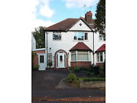 3 bedroom house semi-detached for rent in nice part of Moseley, Birmingham - idea for professionals