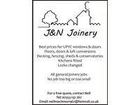Joiner available in the Lanarkshire area