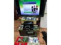Xbox 360 BUNDLE Kinect, Controller Power cable & 10 games