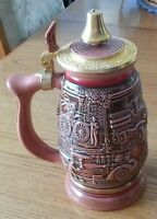 Avon Tribute to Firefighters Ceramic Stein