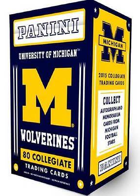 2015 Panini Univ. Of Michigan Wolverines  Multi Sport Blaster Box Trading Cards