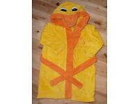 Yellow Duck Baby Bathrobe