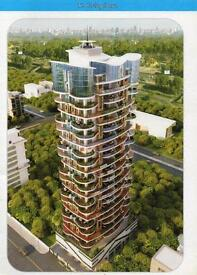 3 Bed flat for sale Mumbai Central new build with parking and ensuite