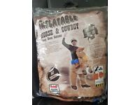 AirSuits Inflatable Horse and Cowboy Fancy Dress Costume Suit