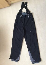 LADIES BLACK SALOPETTES - SIZE 12 - from M & S