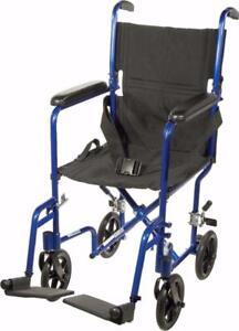 Fauteuil de transport ultra léger Drive - 194.99$ - Livraison gratuite - Neuf - Aucune taxes sur les chaises roulantes