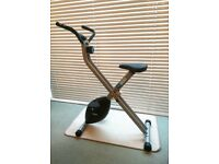 Pro Fitness Folding Exercise Bike - Excellent Condition