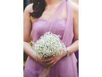 Lilac Strapless Multi Way Maxi Tulle Dress - Size 8-12