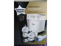 Tommee Tippee Electric Steriliser Kit (Brand New)