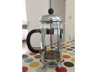 Glass cafetiere