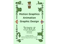 Motion Design + Animation + Graphic Design from Jungle Design Studio