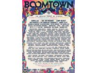 Boomtown 2018 Ticket For Sale