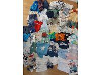 Baby boy clothes bundle 0-6months