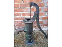 Ornamental garden water pump