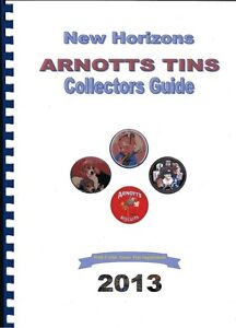 COLLECTORS GUIDE ARNOTTS BISCUIT & CAKE TIN+ UNIBIC LIMITED EDITION ANZAC TINS
