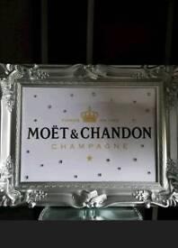Champagne diamonte picture