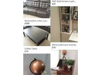 House Clearance - Bed, Cabinet, Kitchen table and more
