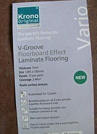7mm laminate flooring - brand new