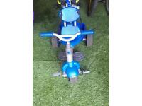 Tyke 3 in 1. Blue. Good condition