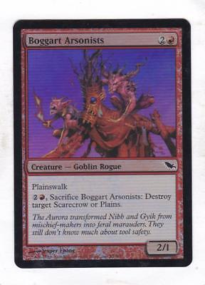 Boggart Arsonists FOIL Shadowmoor NM Red Common MAGIC GATHERING CARD ABUGames