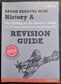GCSE History Edexel - Revision Guide Textbook - Pearson