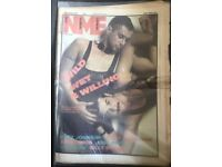 NME / SOUNDS / MUSIC PAPER BACK ISSUES FROM THE 80S