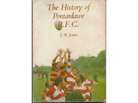 The History of Pontardawe R.F.C. by J. R. Jones 1985 Paperback £15.. Collect from Pontardawe.