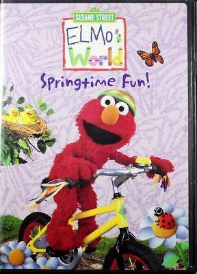 Elmos World Springtime Fun  Preschool Learning About The World Brand New Dvd